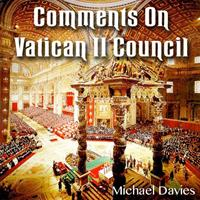Comments on Vatican II Council