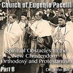 Church of Eugenio Pacelli - Part 08 -Spiritual Obstacles to the New Christendom - Orthodoxy and Protestantism