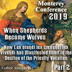 2019 Monterey Conference: How Lex orandi lex credenda lex vivendi has Manifested Itself in the Decline of the Priestly Vocation by Fr. Joseph Illo