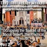 "Part 03 - ""Occupying the Spaces of the Social Order"": The Practical Results"